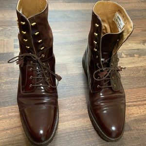 Mauri Men's Brown Leather Boots size 12